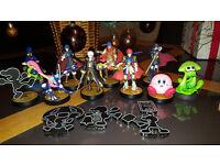 Job lot of 10 Nintendo Amiibo Fire Emblem set, Kirby