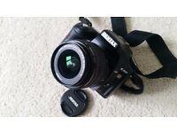 Pentax k200d digital slr and 18-55mm lens
