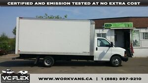 2014 GMC Savana 3500 G3500 16Ft Cube Van Gasoline