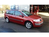 Renault megane diesel 6 gears good condition