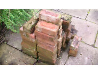 Approx 50 Used Bricks - Ibstock Ivanhoe Red Mix - Very Dirty Need Power Cleaning