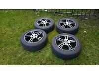"""Oz 16"""" alloy wheels. 4 x 108 et16"""