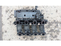 BMW E46 320d inlet manifold, swirl flaps