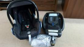 Maxi-Cosi Cabriofix Car Seat & Easyfix Iso fix base