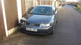 Audi A3 LY7K damage for parts