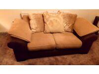 2 seat sofa and corner suite