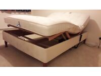 Electrically operated double bed