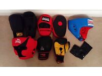 Boxing/Muay Thai/MMA equipment see all pictures