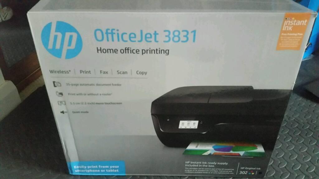Christmas Present Scanner.Hp Officejet 3831 Printer Scanner Copier Fax In Lisburn County Antrim Gumtree
