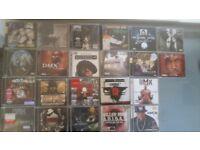 CD collection mostly rap/hip hop