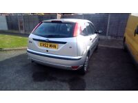 52 Ford Focus Flight. New battery, tyre and thermostat. 6 months MOT.