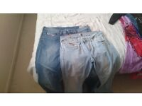 2 pairs of jeans excellent condition