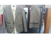 Boys Light Grey Suit, Shirt and Ties - Age 9 to 10