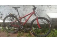 "Carrera Sulcata Women's mountain bike 29er 16"" - £100 ONO"