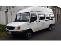 2004 LDV 400 CONVOY DURATORQ DIESEL LWB 8 SEATER WHEELCHAIR LIFT MINIBUS LONG MOT FREE TAX