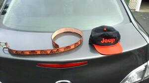 jeep cj, tj, yj, ballcap, hat, leather belt 4x4