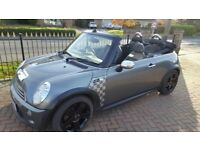 Mini Cooper S convertible - - Leather Seats, Chronograph Dials, Parking Sensors, Long MOT, 2 keys