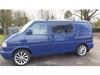 VW Transporter T4. 50 years edition. Double sliding doors.