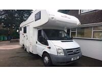 08 Ford Transit Motor home - Roller Team - 7 Berth - Autoroller 600G - With Garage - Low mileage