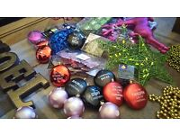 Job lot christmas decorations