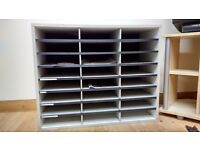 24 tray A4 tray/literature/brochure/document sorter/storage/filing unit/cabinet