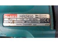 Makita hr2450 sds hammer drill