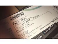 X2 Take That Tickets Thursday 1st Jun Birmingham