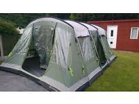 Outwell Montana 6 with extension & extras