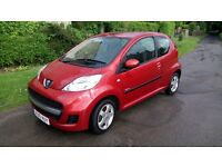 Peugeot 107 Verve 1.0 3 dr in metallic orange
