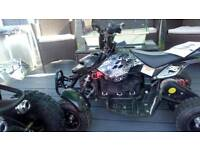 Battery quad very fast 36v