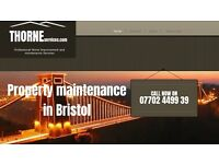 Thorne Services, Property Maintenance in Bristol and the surrounding areas.
