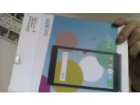 7 inch tablet new box open to try it android.