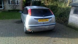 FORD FOCUS 1.6 ZETEC SE (runs but selling as spares repairs)