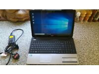 Acer Aspire E1-531 15.6 LCD Laptop Intel Pentium B960 4GB DDR3 500GB HDD DVD-RW excellent condition