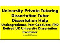 Dissertation Writing help, Dissertation Tutor,Essay, Assignment, University Tuition,Proofreading,PhD