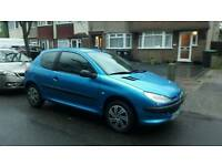 PEUGEOT 206 STYLE 1.1CC 80K FAMILY OWNED 5 MONTHS MOT DRIVES THE BEST