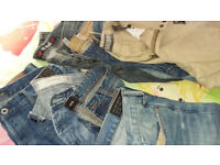 mens jeans and shorts