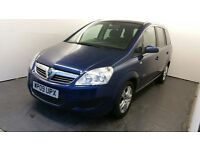 2009 | Vauxhall Zafira 1.9 CDTi Manual | Bluetooth | Sensors | 1 Owner | 3 Months Warranty