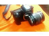 CANON EOS 20D camera with 18-55 lense