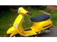 Vespa LX 125 07 Plate Exellent Condition with Extras £820 ono.