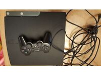 Playstation 3 40gb with dualshock3 controller