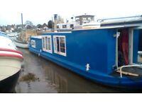 Dutch Barge House Boat
