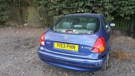 Toyota Corolla spares or repair