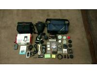 Canon EOS 350D, EF-S 18-55, Sigma 18-200, Speedlite, Bags, Filters, Extra Accessories