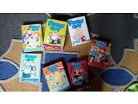 Family Guy season 1-7 complete box set.