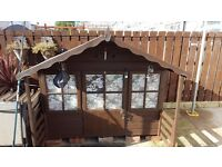 Wooden Children's Play House / Wendy House