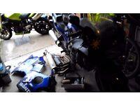 2 x Honda CBR 600f for spares