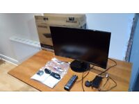 """Samsung Smart 24"""" Full HD 1080p LED Curved TV, Freeview H"""