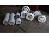 Vents and ducting various sizes and lengths ** See Pictures **