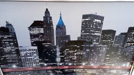 Giant picture from Ikea
